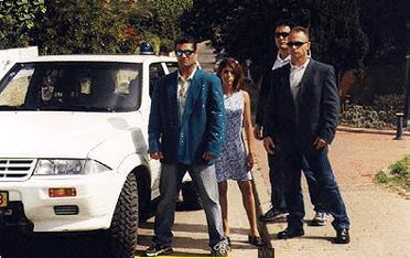 bodyguard college in Israel