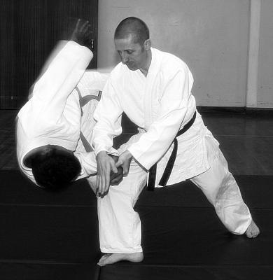 Sensei Hall (Taidokan Instructor)
